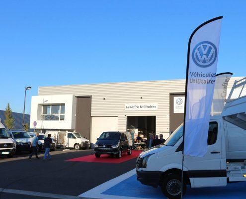 Lesaffre Utilitaires votre partenaire Volkswagen à Lille, Lesquin, Nord
